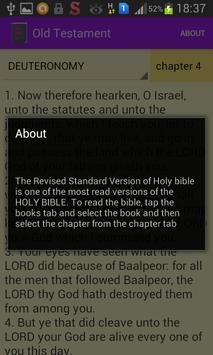 Holy Bible (RSV) apk screenshot