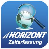 Horizont-Zeiterfassung icon