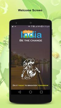 Clean India poster