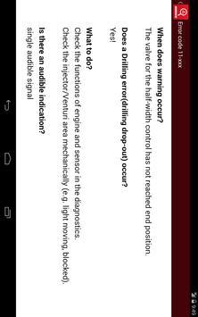 HORSCH Error Codes apk screenshot