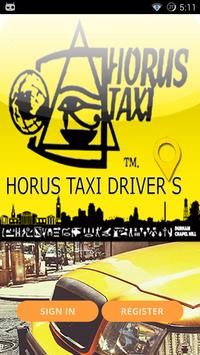 HORUS TAXIAPP  - DRIVER FREE poster