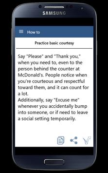How To Have Good Manner apk screenshot