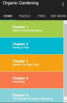 Organic Gardening Guide apk screenshot