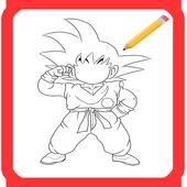 How to draw DBZ icon