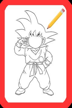How to draw DBZ poster