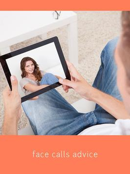 Face Time Video Calls -Advice poster