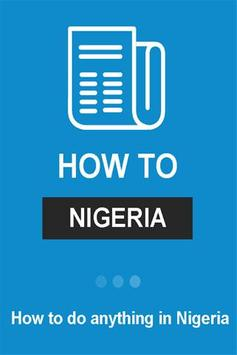 How To Nigeria poster