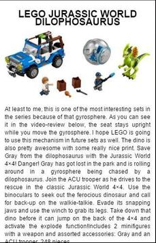 Guide for Jurassic World Lego apk screenshot