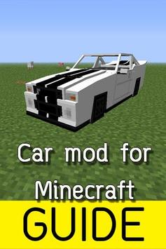 Guide: Car Mod For Minecraft poster