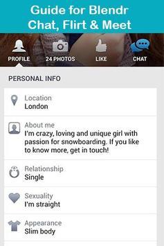 Guide Blendr-Chat, Flirt&Meet poster