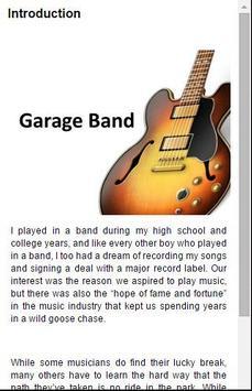 Guide For GarageBand FREE apk screenshot