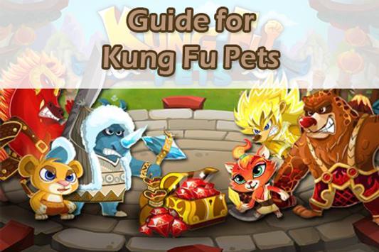 Guide For Kung Fu Pets apk screenshot