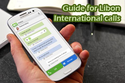 Guide Libon International call apk screenshot