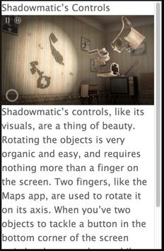 Guide for Shadowmatic apk screenshot