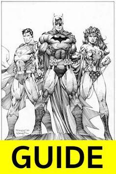 How to Draw Comic Superheroes apk screenshot