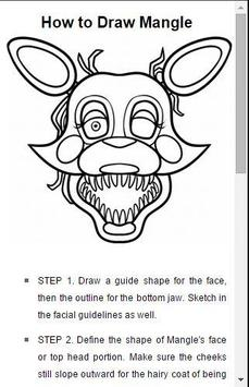 How to draw FNAF poster