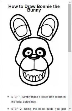 How to draw FNAF apk screenshot