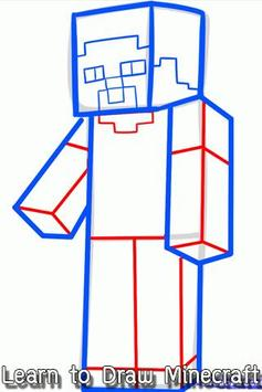 Learn to Draw Minecraft poster