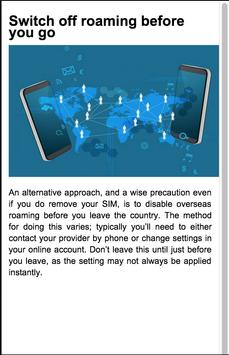 Roaming Call Alternative Guide apk screenshot