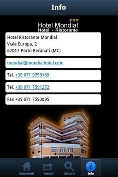 Hotel Mondial Porto Recanati apk screenshot