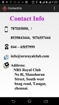 NRS Royal Club apk screenshot