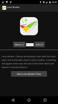 LoneWorker apk screenshot