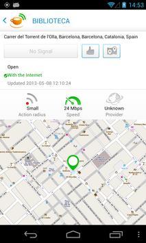Hotspotlist - Free WiFi apk screenshot