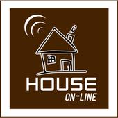 House on-line Automação icon