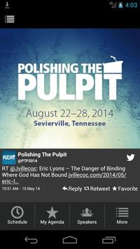 Polishing the Pulpit 2014 poster