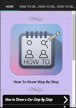 How To Draw Step By Step poster