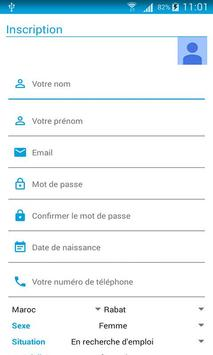 HP CDG Recrute apk screenshot