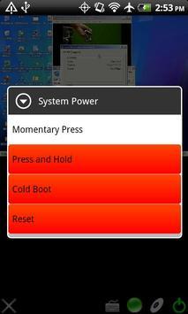 HP iLO Mobile apk screenshot