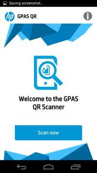 HP GPAS QR poster