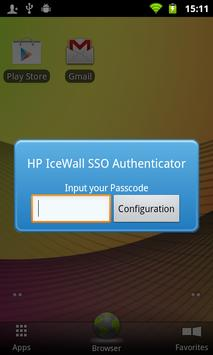 HP IceWall SSO Authenticator poster