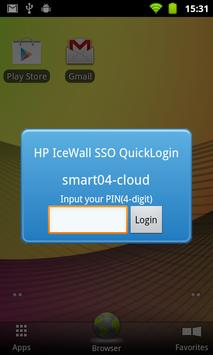 HP IceWall SSO QuickLogin poster