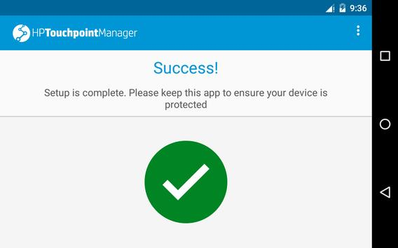 HP Touchpoint Manager apk screenshot