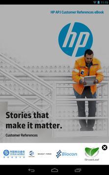 HP APJ Customer References apk screenshot