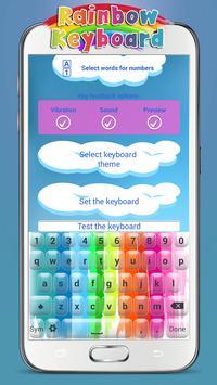 Rainbow Keyboard poster