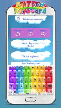 Rainbow Keyboard apk screenshot