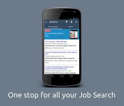 Admin, HR Jobsenz for India poster