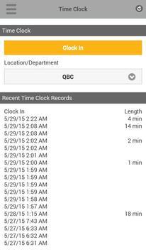 TrackSmart Scheduling apk screenshot