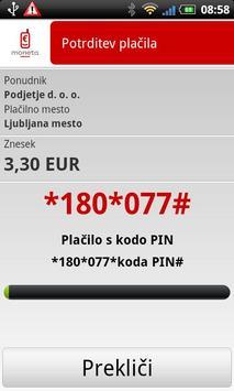Moneta mTerminal apk screenshot