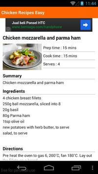 Chicken Recipes Easy apk screenshot