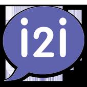 i2i FREE HD Video calls & Chat icon