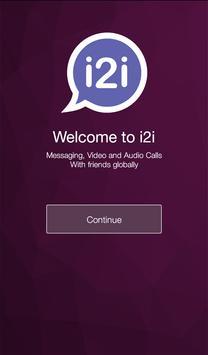 i2i FREE HD Video calls & Chat poster