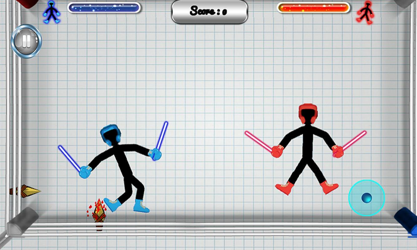 stickman fight game