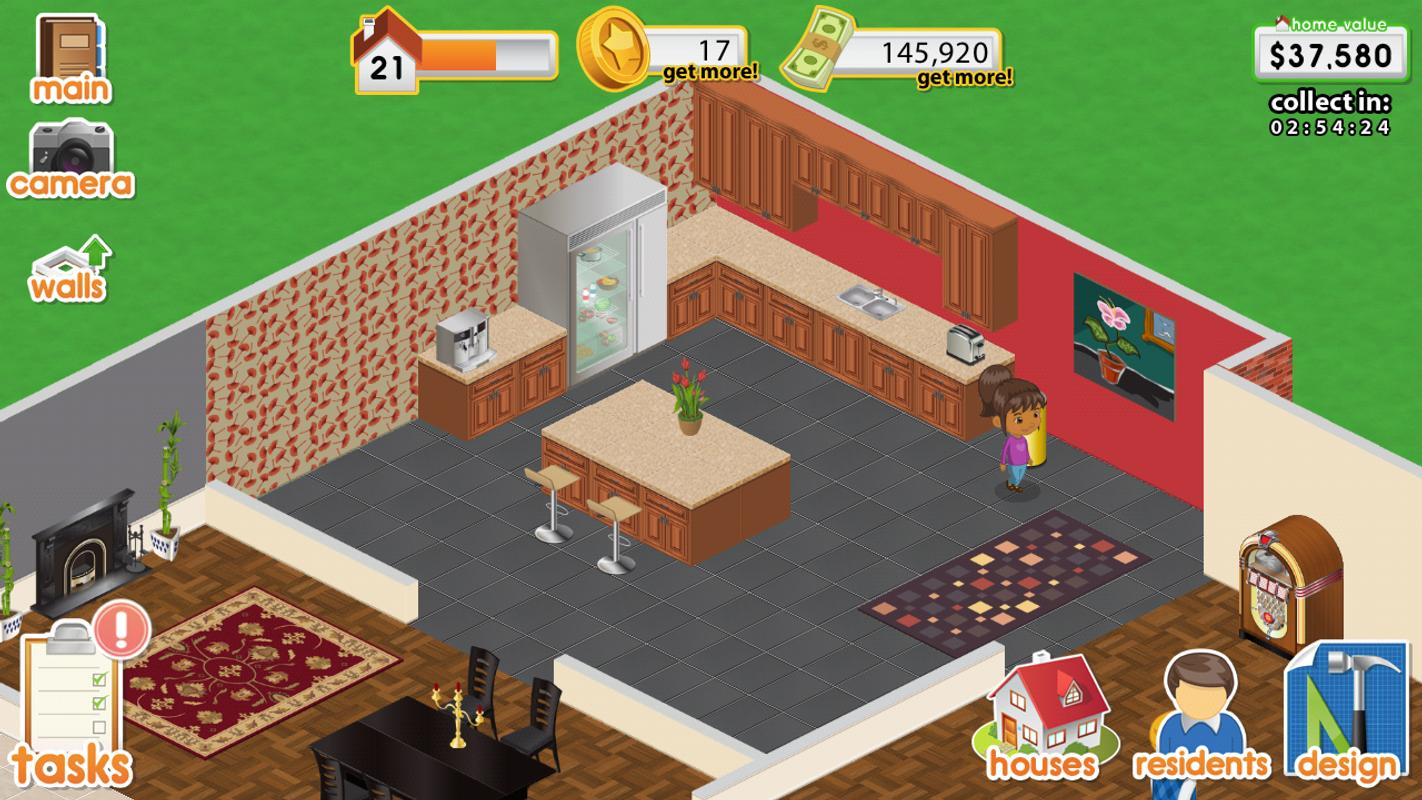 Design this home apk download free simulation game for android for Home design games free download