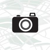 Foto og koordinater til mail icon