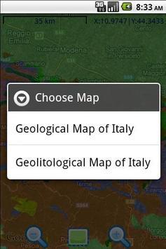 Geologia Italia apk screenshot