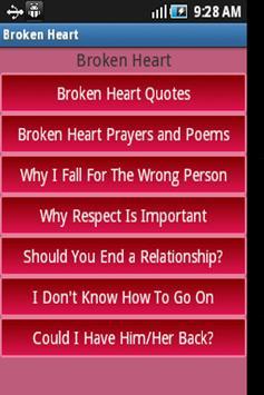 My Broken Heart Collection apk screenshot